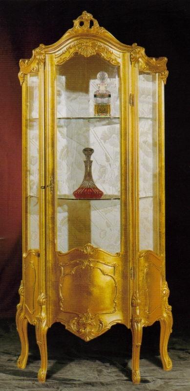 angoliera vetrina laccata stile veneziano : Foto Mobili Stile Barocco Veneziano Pictures to pin on Pinterest