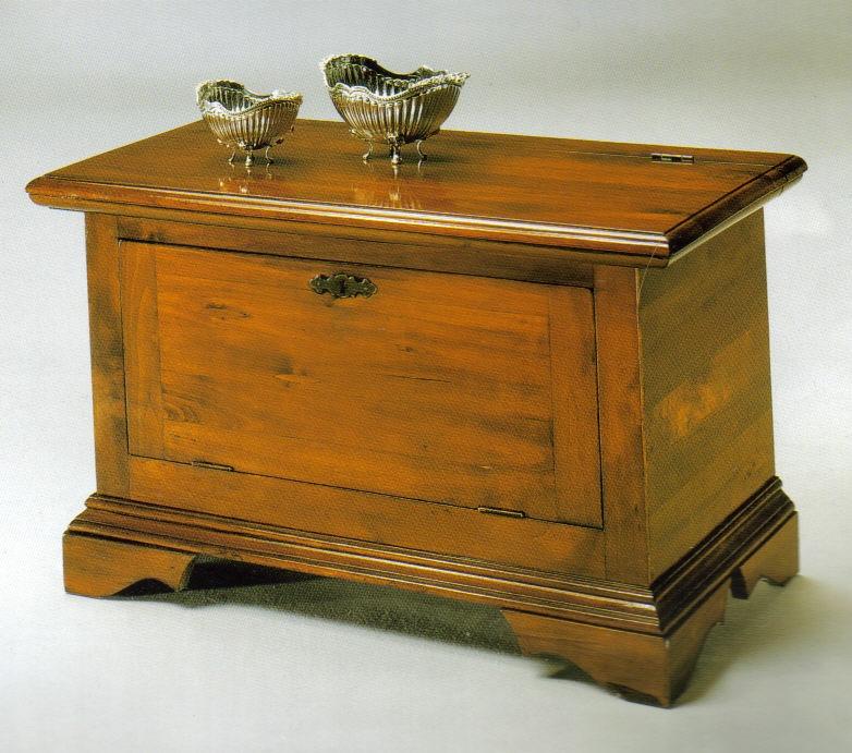 Cassapanche panche cassapanca legno t noce antina ribalta for Cassapanca con seduta
