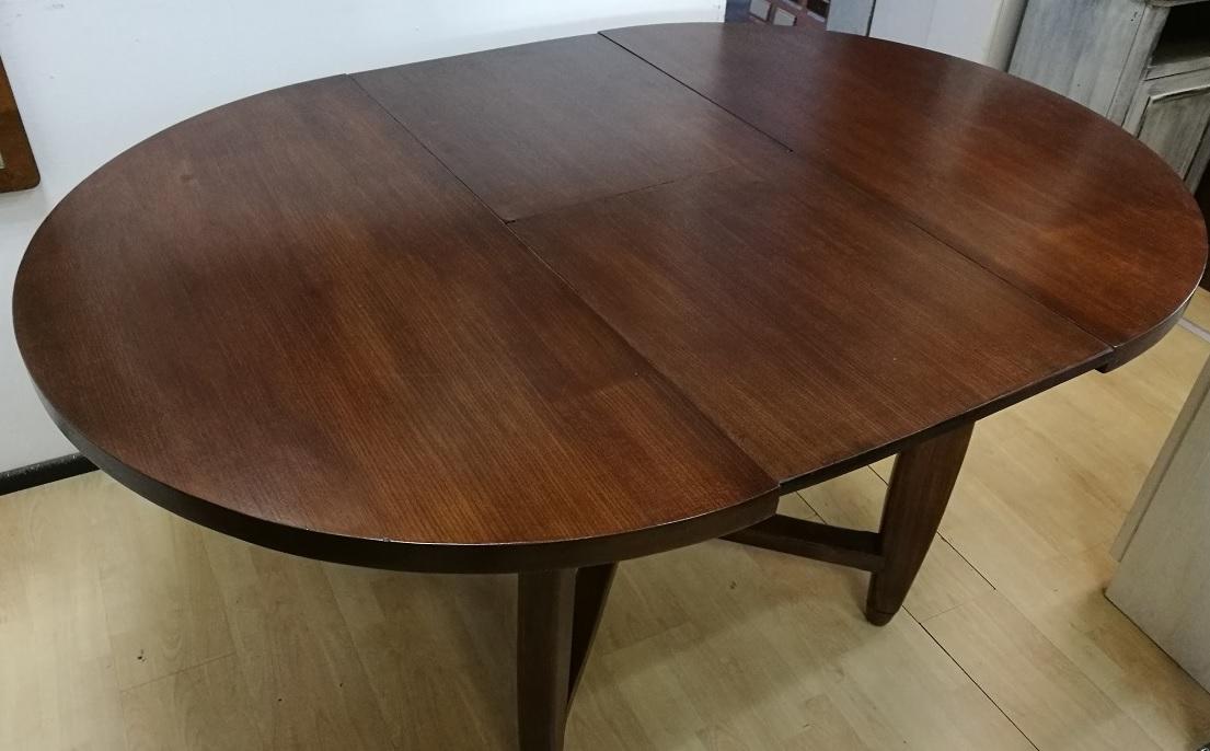 Antiquariato mobili antichi tavolo rovere massello t for Tavolo rotondo barocco