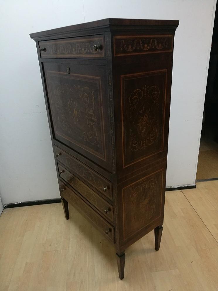 antiquariato mobili antichi secretaire ribalta stile