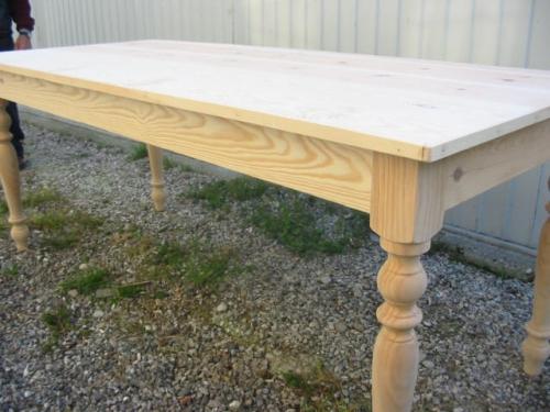Tavoli - Tavolini d\'Arredo: TAVOLO LEGNO ABETE GREZZO