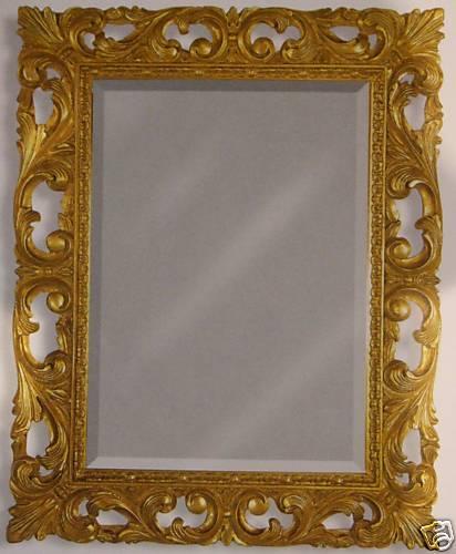 Quadri cornici specchi specchiera cornice foglia oro for Cornici per quadri online