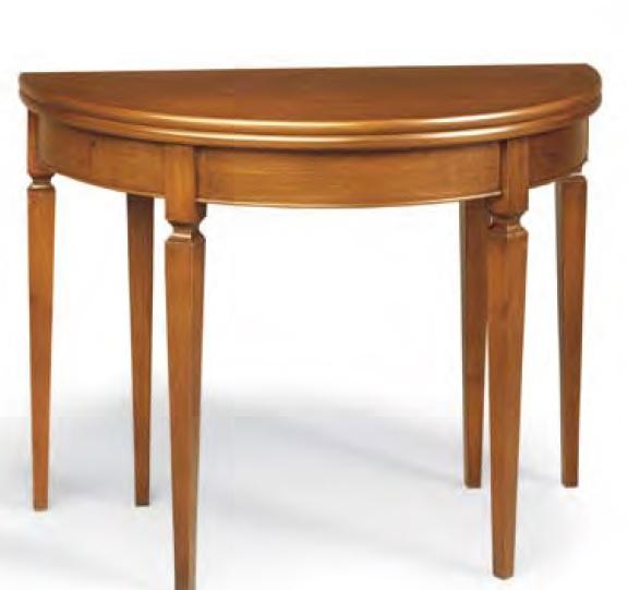 Tavoli tavolini d 39 arredo tavolo consolle noce allungabile for Tavolo consolle noce