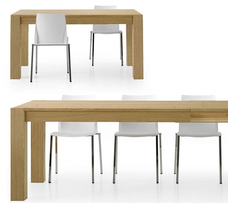 Tavolo Moderno In Rovere.Tavoli Tavolini D Arredo Tavolo Moderno Rovere Spazzolato