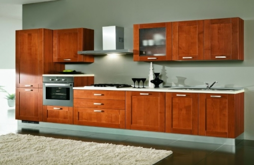 Stunning cucina color ciliegio contemporary home interior ideas for Cucine moderne color ciliegio