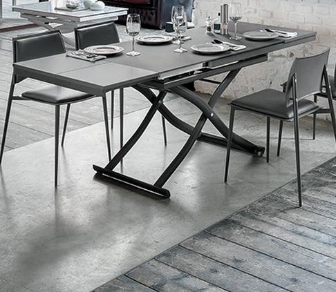 Tavoli tavolini d 39 arredo tavolo trasformabile mod dione for Tavolini arredo