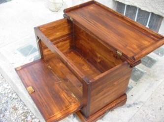 Cassapanche panche cassapanca legno t noce antina ribalta for Cassapanche di legno