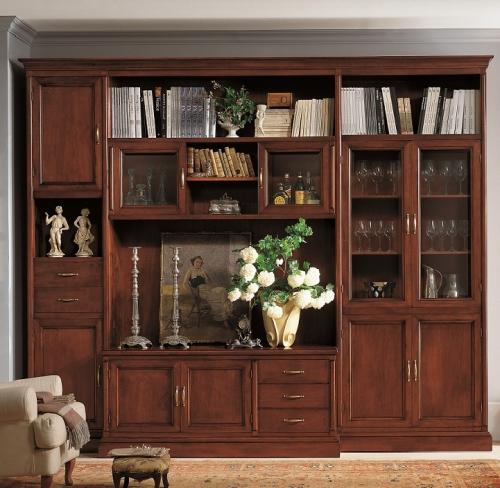 Soggiorno componibile in legno for Mb arredamenti roma