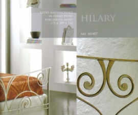 LETTO IN FERRO MATRIMONIALE HILARY